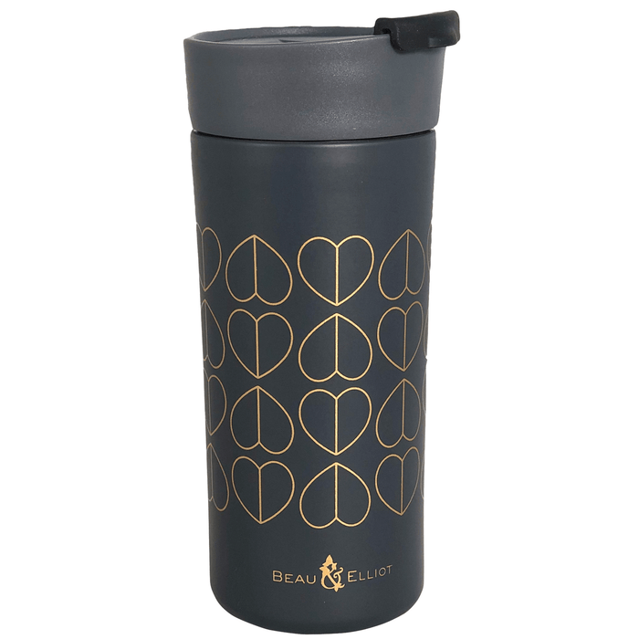 Beau & Elliot Champagne Edit Grande travel Mug 450ml Dove