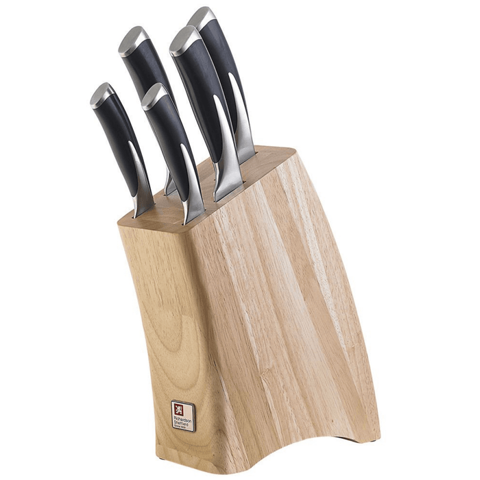 Richardson Sheffiled Kyu KY050 5 Piece Knife Block Set