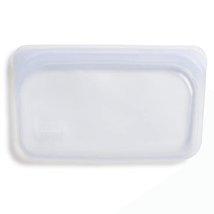 Stasher Silicone reusable Snack bag 19 x 12cm - Clear