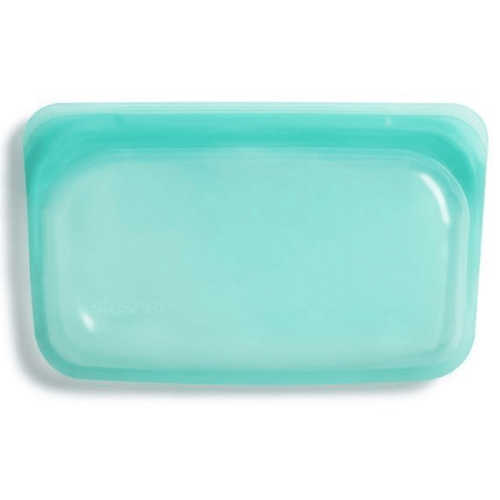Stasher Silicone reusable Snack bag 19 x 12cm - Aqua