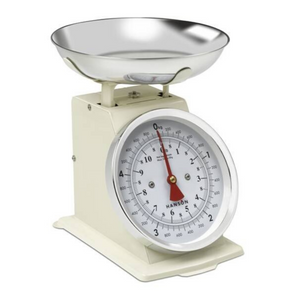 Terraillon Traditional Kitchen Scale - Cream