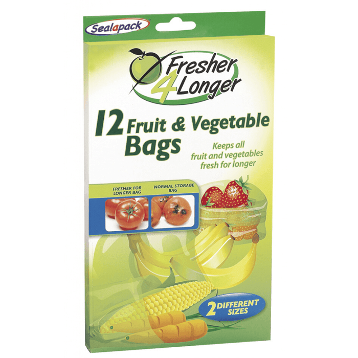 Sealapack Fruit & Vegetable Bag - 12 Pack