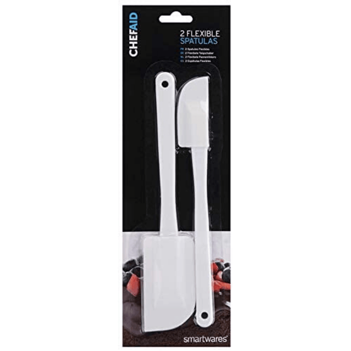 Chef Aid Flexible Spatulas Carded - 5.5cm
