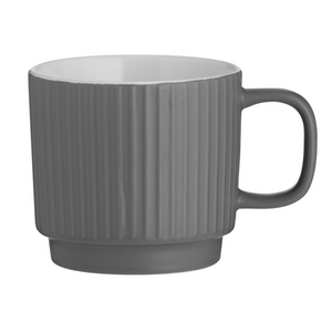 Mason Cash Embossed Line Mug - Grey