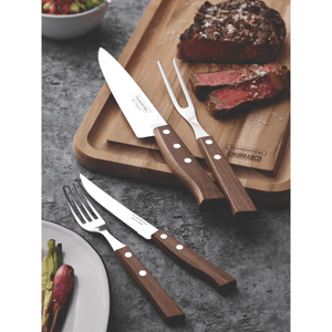 Tramontina Churassco Stainless Steel 14 Piece Steak Knife And Carving Set