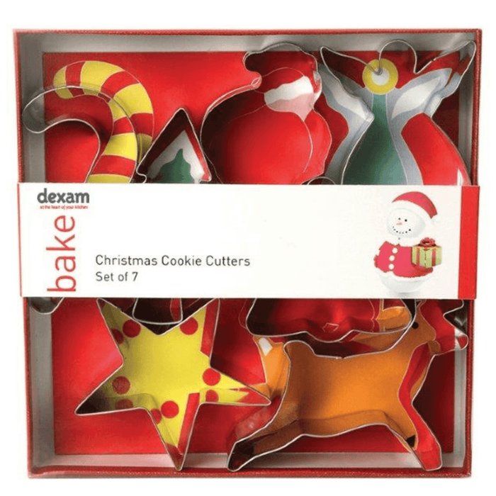 Dexam Christmas Cookie Cutters - Set of 7