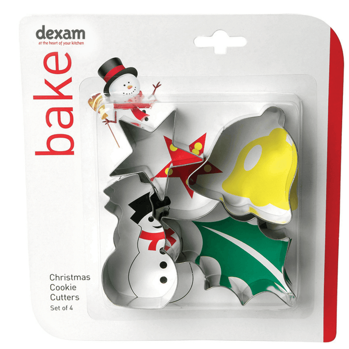Dexam Make & Bake Cookie Cutter Set Snowman