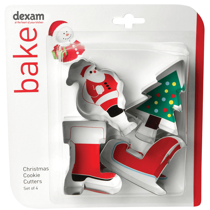 Dexam Make & Bake Cookie Cutter Set Santa