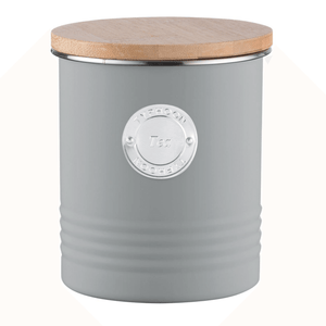Typhoon Living Tea Bin - Grey