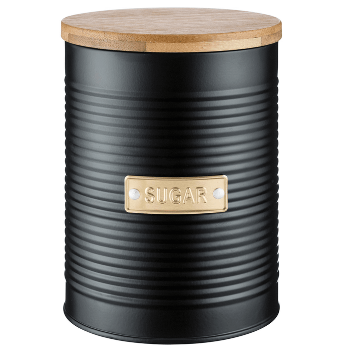 Typhoon Otto Black Sugar Canister 1 Litre