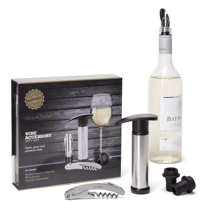 Cellardine Wine Accessories gift set