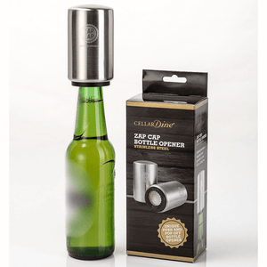 Cellardine Stainless steel ZapCap bottle opener
