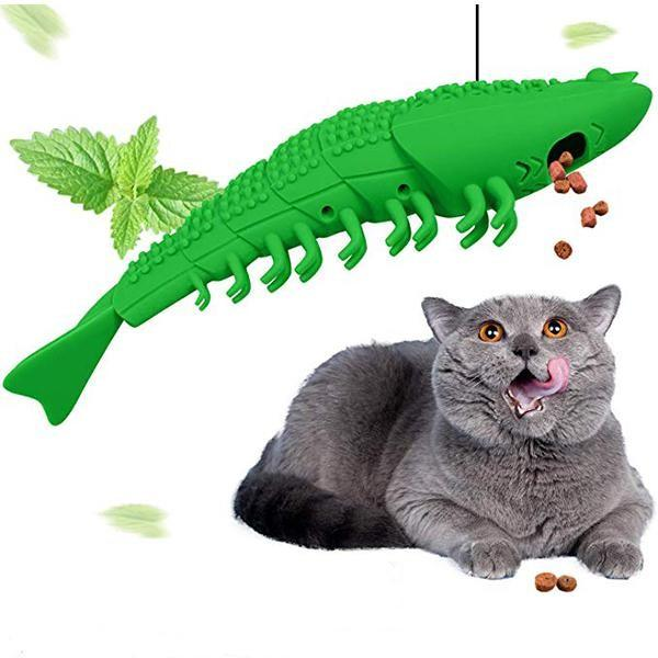 (🎄Early Christmas Sale🎄- Save 40% OFF) Cat Toy Toothbrush【Buy more save more】