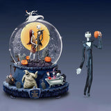 Nightmare Before Christmas Rotating Musical Glitter Globe Doll