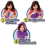 Children with pet pillow hoodie