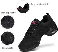 Women`s Breathable Air Cushion  Split Sole Athletic Walking Shoes