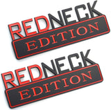 """RedNeck Edition"" Car Badge"