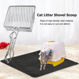 (🎄Early Christmas Sale🎄- Save 40% OFF) Stainless steel cat litter shovel (Buy more save more)