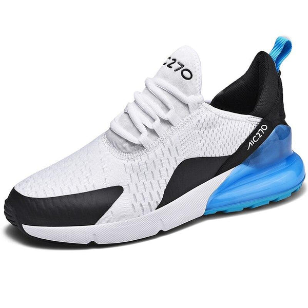 Men Running Breathable Air Sole Mesh Lace-up Outdoor High Quality Footwear Trainer Sneakers