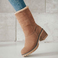 Arctic Faux Winter Boots
