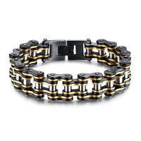Black & Gold Chain Bracelet