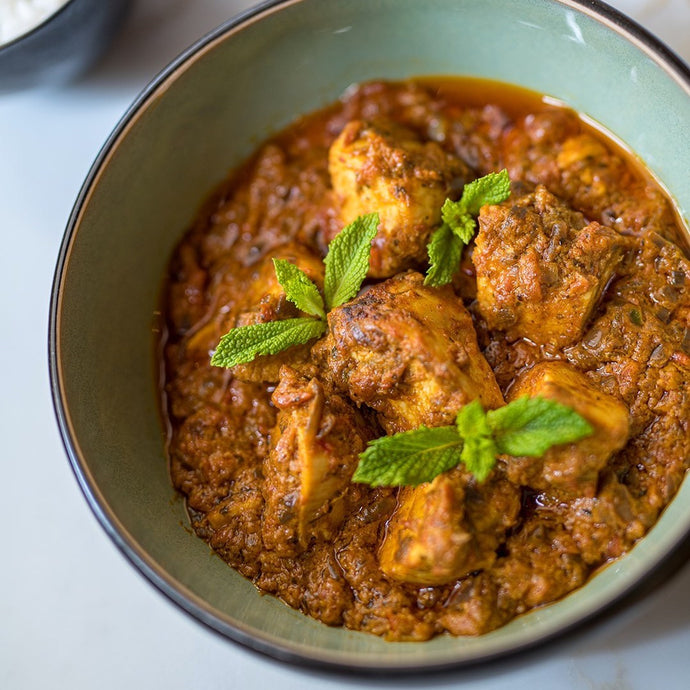 A Food & Wine Marriage - Sri Lankan Chicken Korma with Old Vine Shiraz