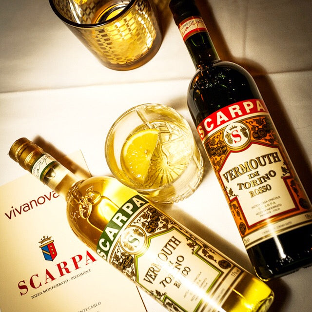 Scarpa Wine - Our July 2020 Vermouth Partner