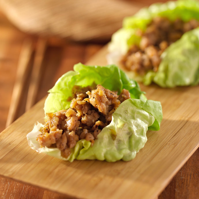 Wine & Food Pairing Recipes . Sauvignon Blanc with Thai Sesame Chicken in Lettuce Cup