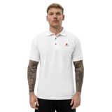LAMOODE Embroidered Polo Shirt