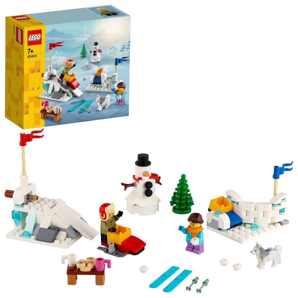 LEGO® Iconic Winter Snowball Fight - LEGO® Store Srbija