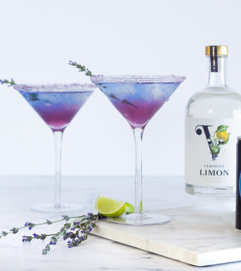 The Curious Spirit LimonLavender Blue Recipe