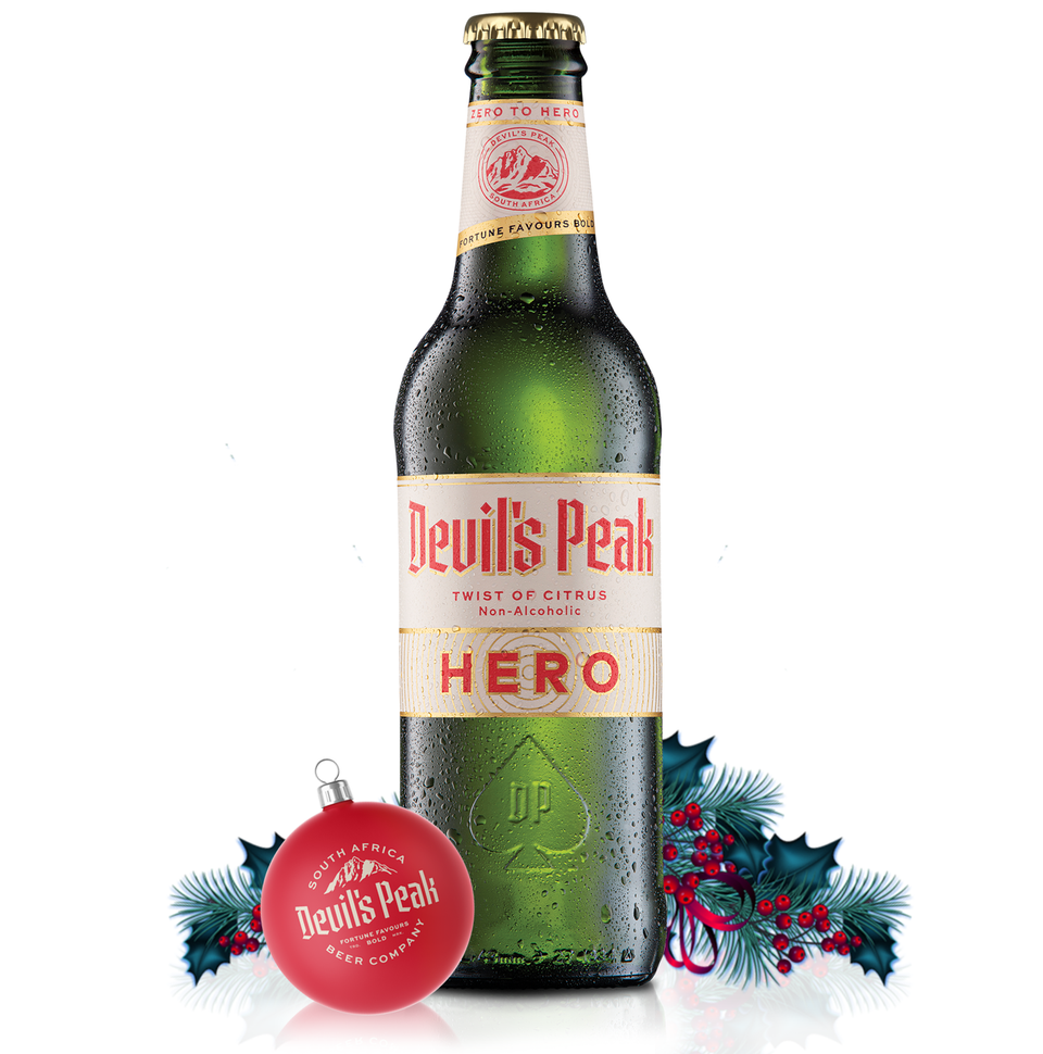 Devil's Peak Hero Twist of Citrus 0% Alcohol Beer