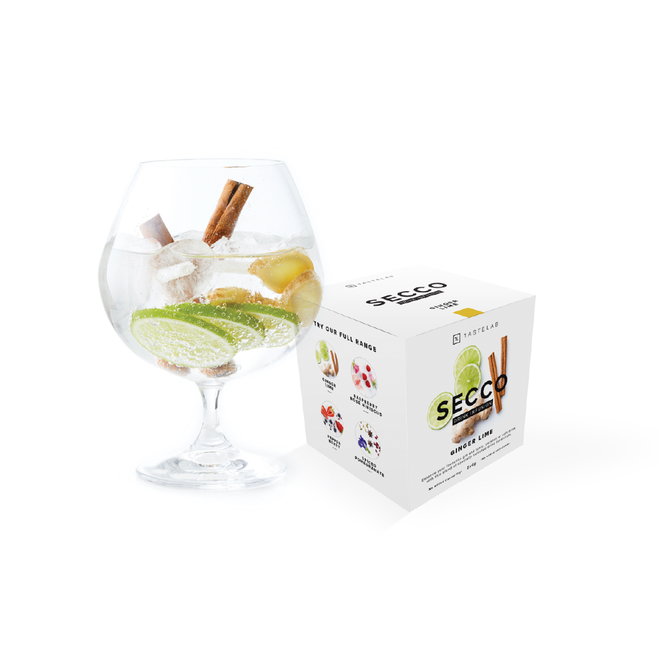 Secco Ginger Lime Drink Infusion