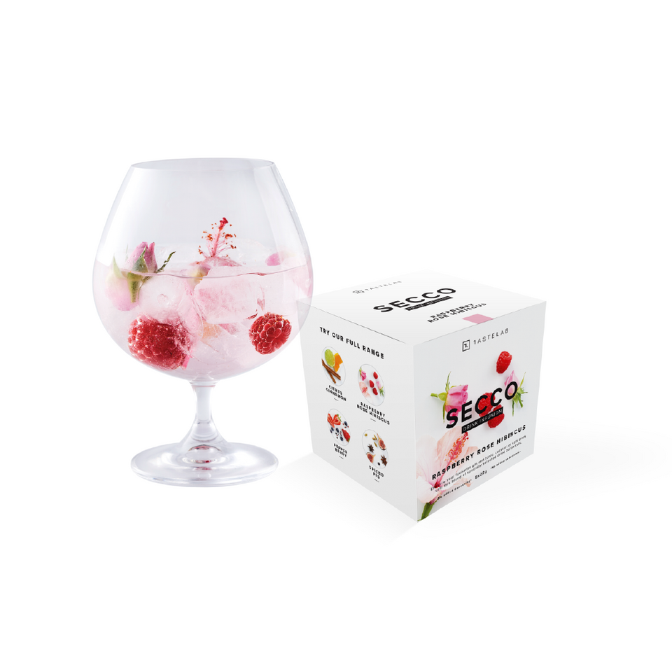Secco Raspberry Rose Hibiscus Drink Infusion