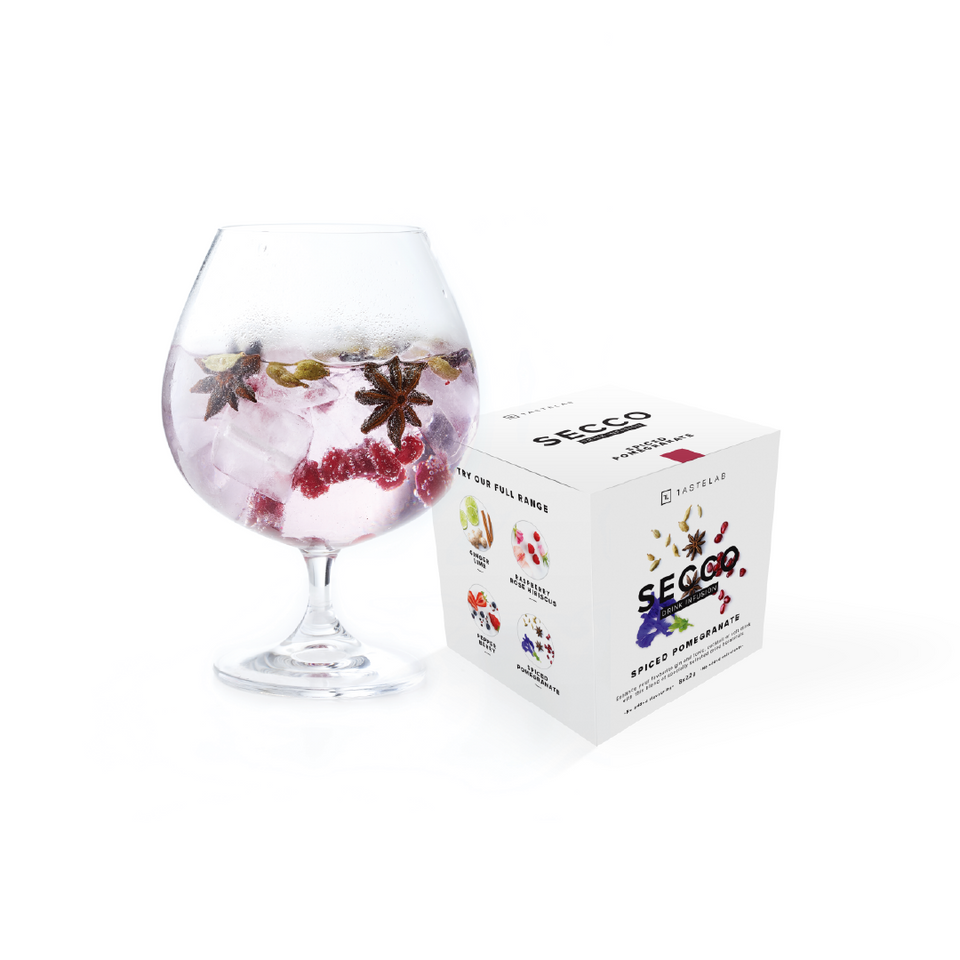 Secco Spiced Pomegranate Drink Infusion