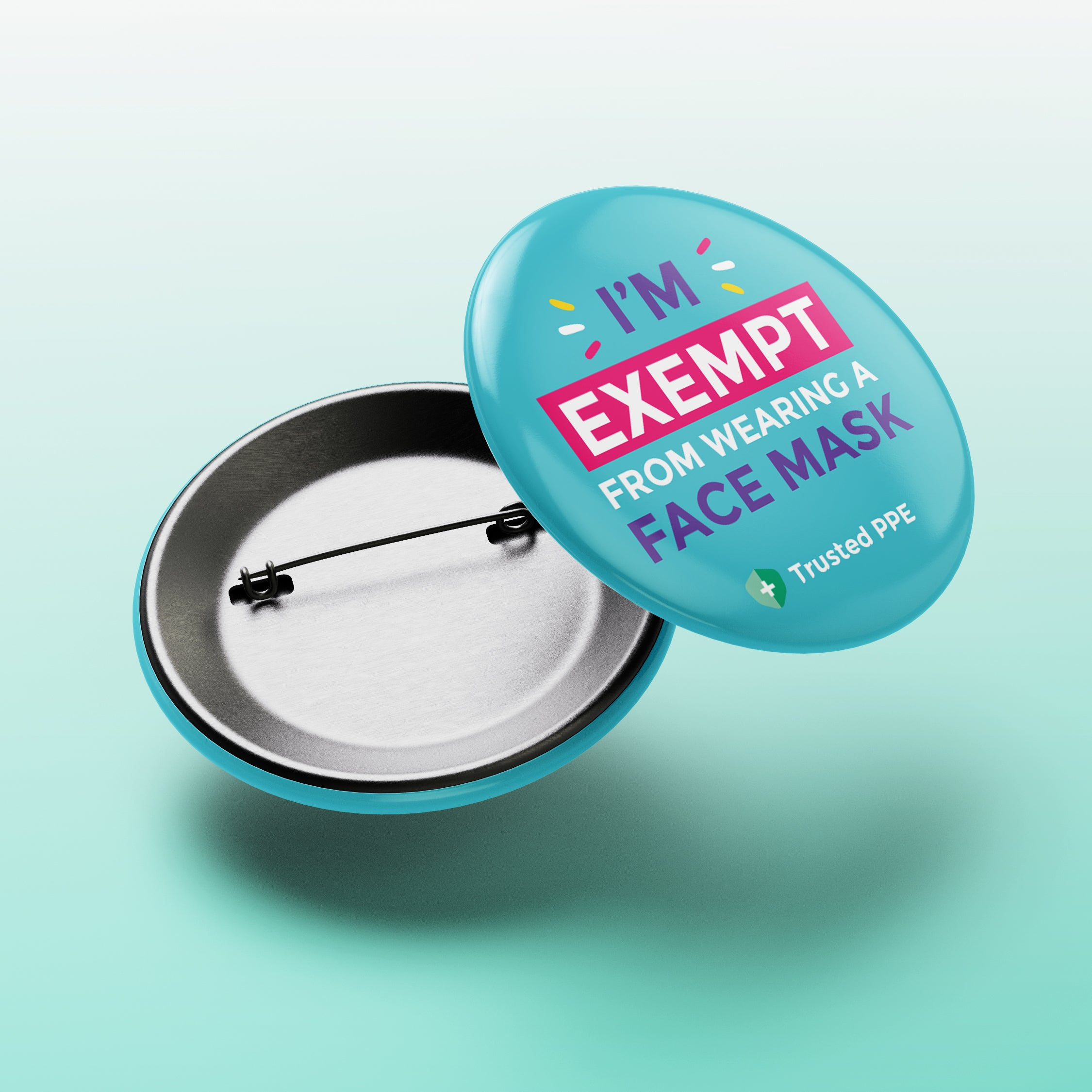 Face Mask Exemption Badges
