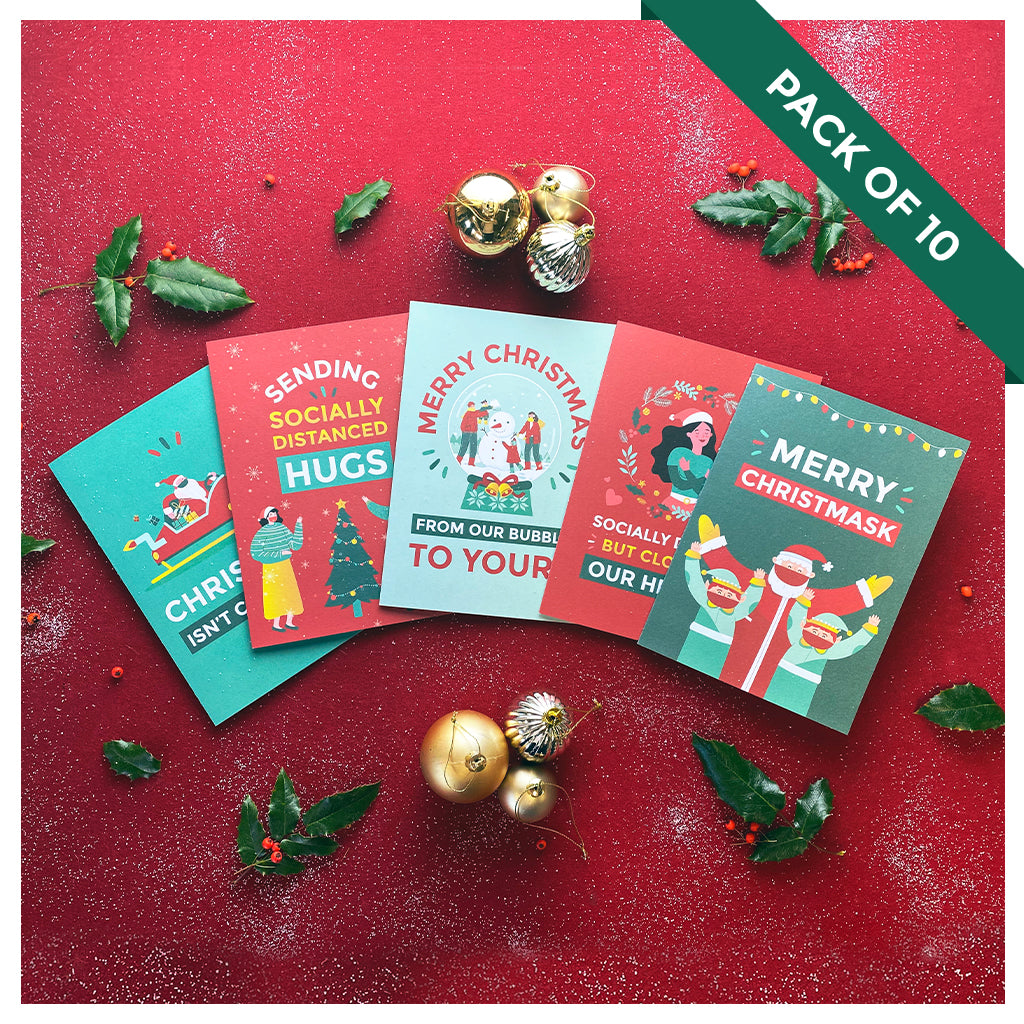 Limited Edition Christmas Cards - Pack of 10