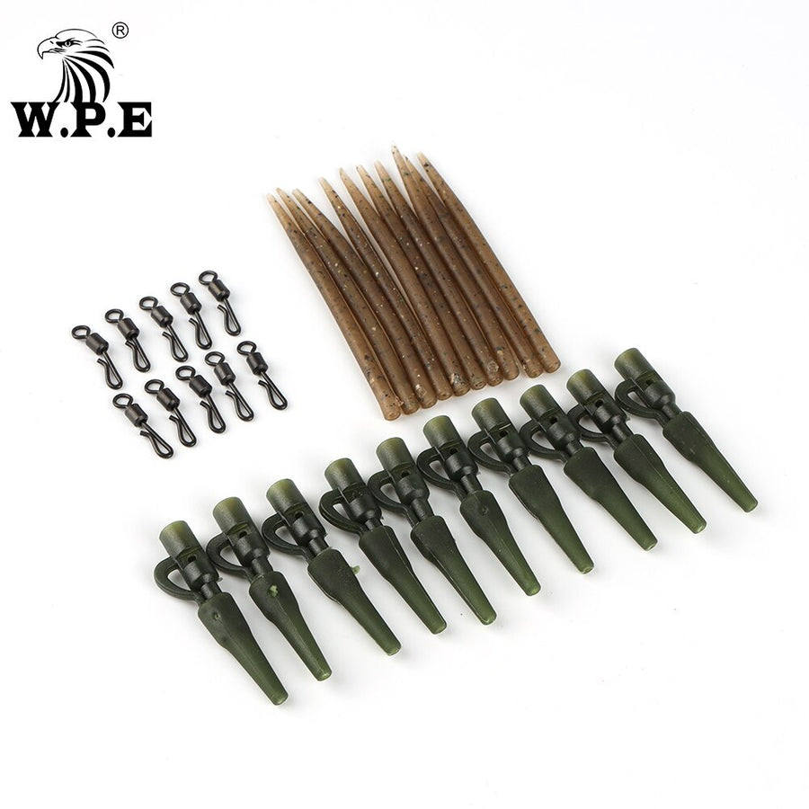 Carp Fishing Tackle Quick Links Rig Sleeves Carp Safety Clips Hooks Swivels