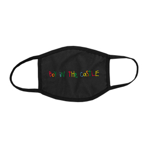 CASTLE KID LOGO FACE MASK - B