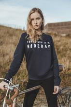 "Afbeelding in Gallery-weergave laden, Çois Cycling Sweater "" Thank God It's Rideday"""