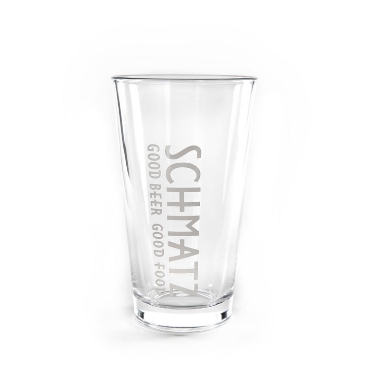 SCHMATZ PINT GLASS 480ml - Schmatz Shop