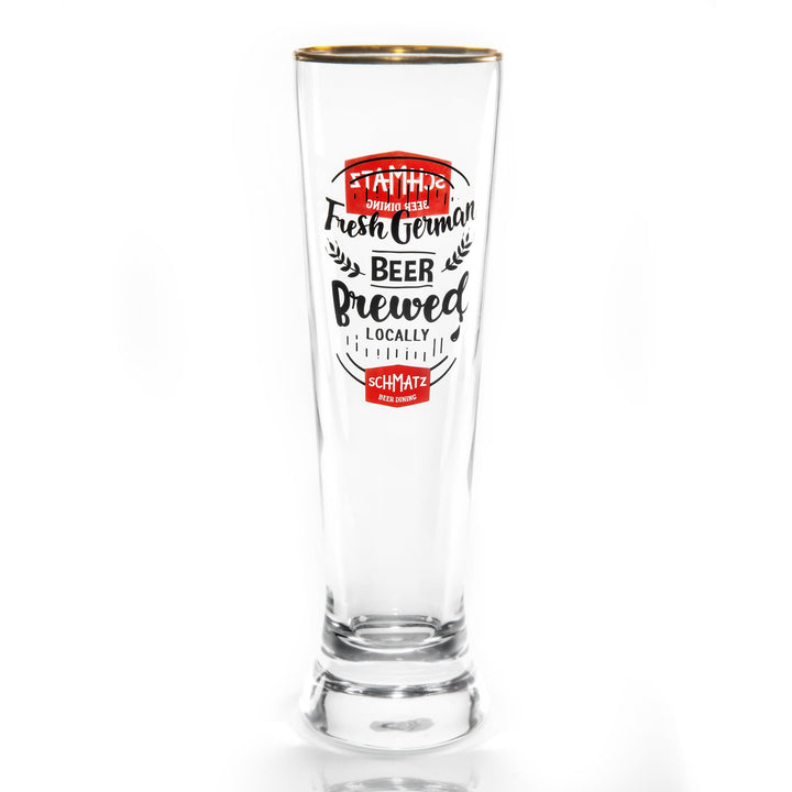 Schmatz premium beer glass 420ml - Schmatz Shop
