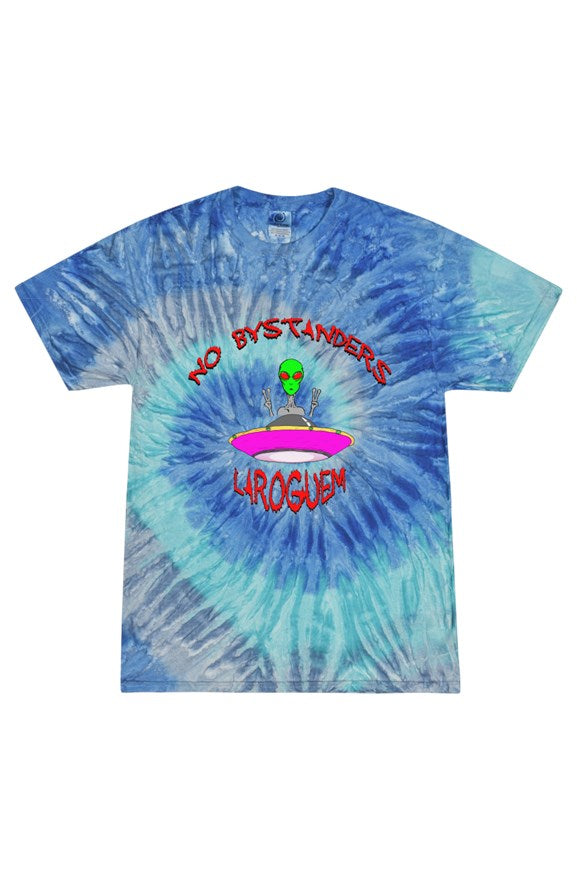 No bystanders- Tie Dye Blue Jerry Adult T Shirt