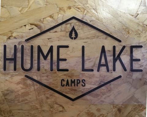Hume Camps Sticker (various colors)