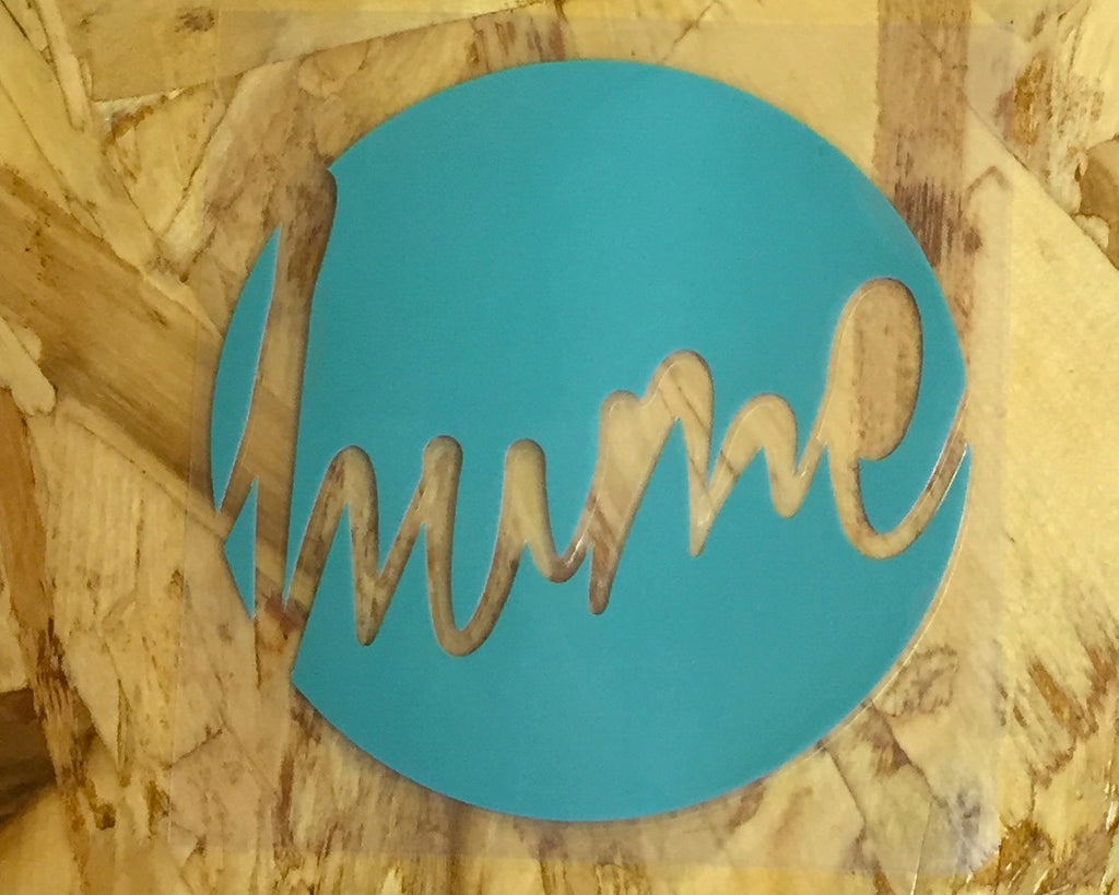 Hume Circle Sticker