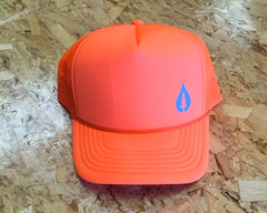 Offset Drip Trucker Hat (various colors)