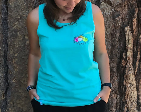 Polygon Sunrise Tank Top (various colors)