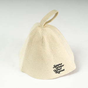 "Sauna Hat""Repeat""(White)"