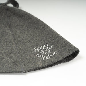 "Sauna Hat""Repeat""(Gray)"
