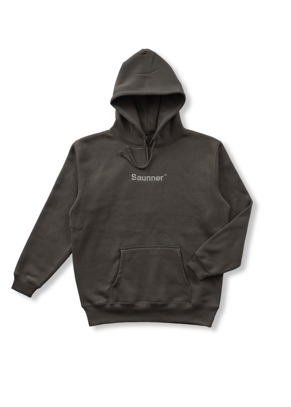 Saunner ™ Logo Hooded Sweatshirt - Gray